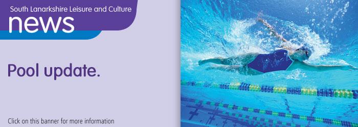 Public lane swimming update Slider image