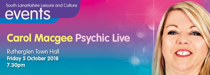 Carol Macgee Psychic Live