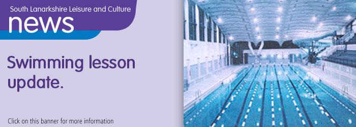 Swimming lesson update Slider image