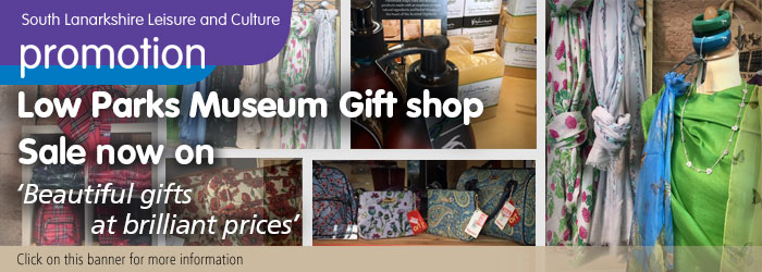 Sale at Low Parks Museum Gift Shop