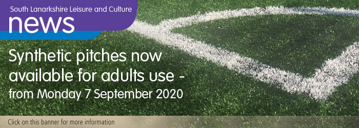 Synthetic pitches now available for adult use