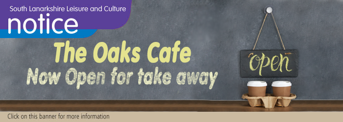 The Oaks Café at Chatelherault Country Park has reopened