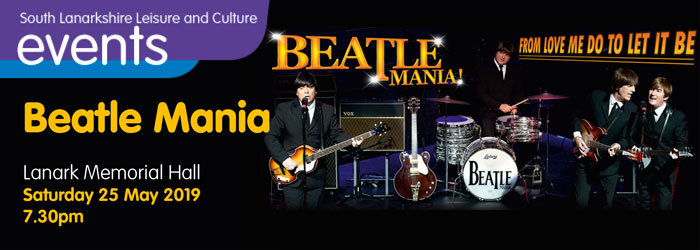 Beatlemania, Lanark Memorial Hall