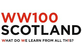 The One hundred stories of Scotland's WW1 logo