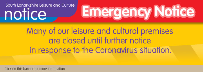 Many of SLLC leisure and cultural premises are closed until further notice due to Coronavirus situation