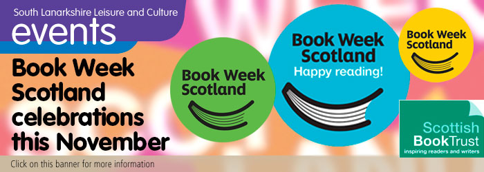 Book Week Scotland at South Lanarkshire libraries