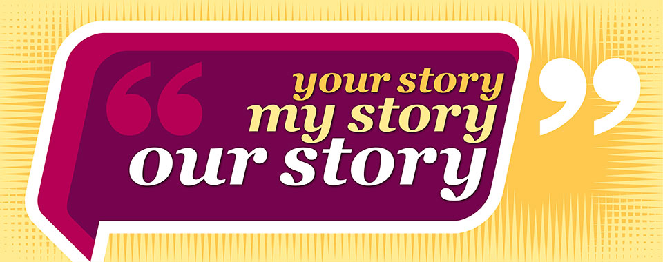 1A 042394 your story my story our story main banner