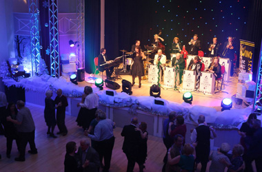 Swing Sensation coming to Lanark Memorial Hall on Friday 14 December 2018