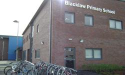 exterior of Blacklaw Primary School