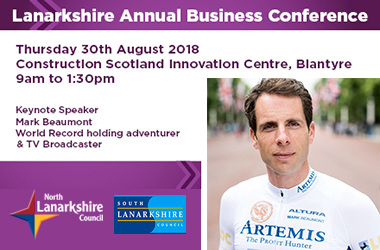 Business conference advert