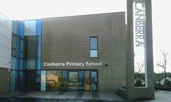 new Canberra PS front
