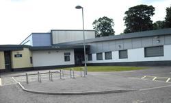 exterior of new Cathkin Primary School