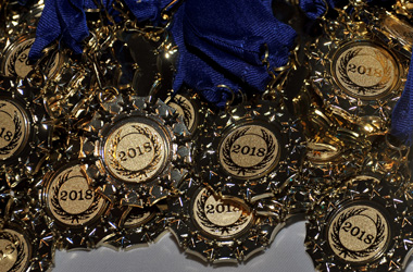 Education Awards 2018 medals