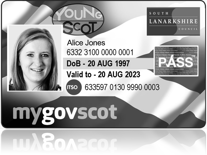 Young people card