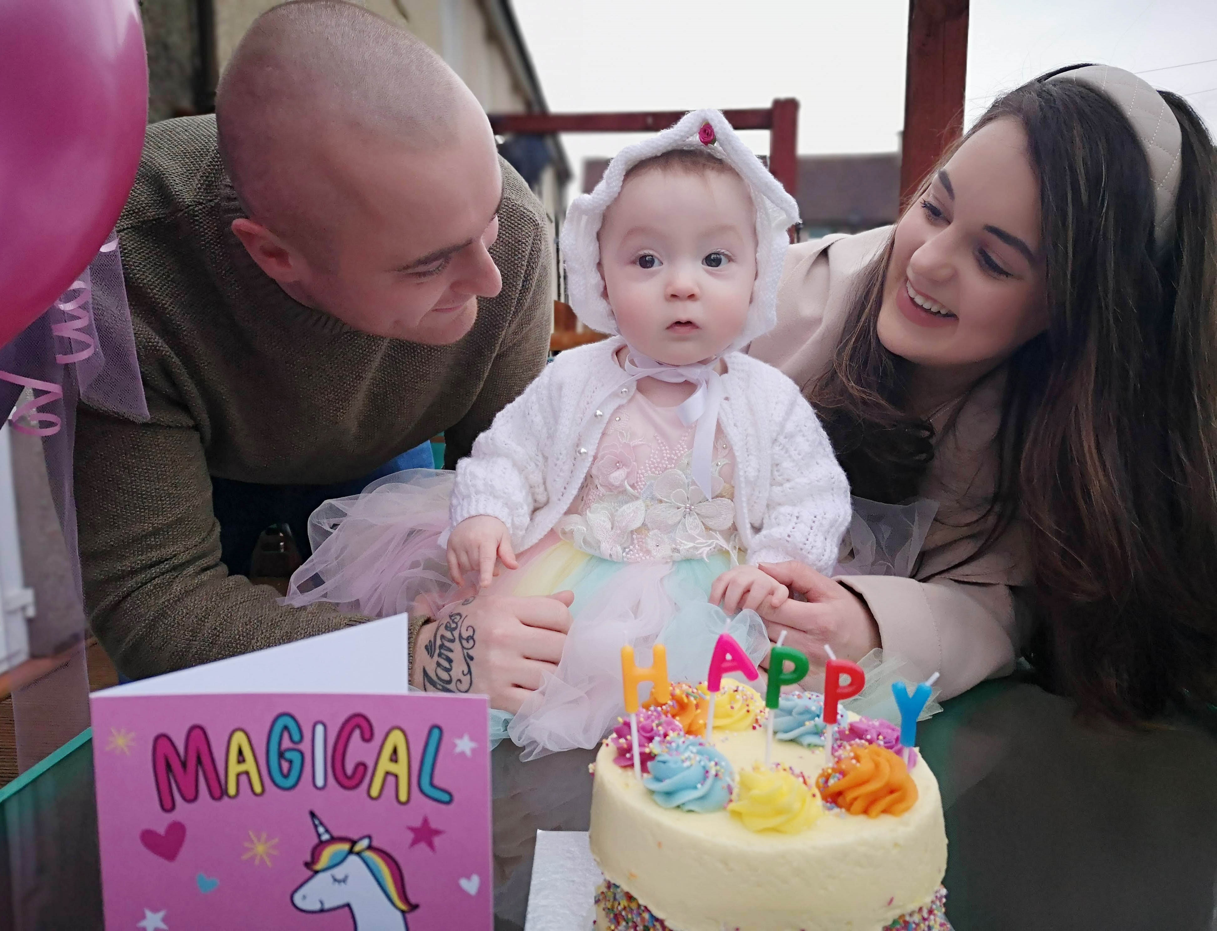 SLC Tot who battled COVID as a baby is thriving as first birthday celebrations approach