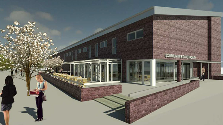 Concrete commitment to building fabric of community life into new Care Hub as plans are approved