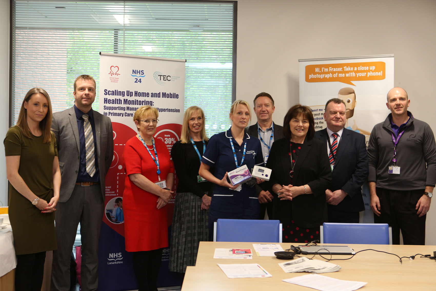 Exemplary Lanarkshire work in sharp focus as new technology scaled up across Scotland