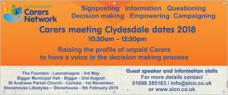 South Lanarkshire Carers Network: meeting