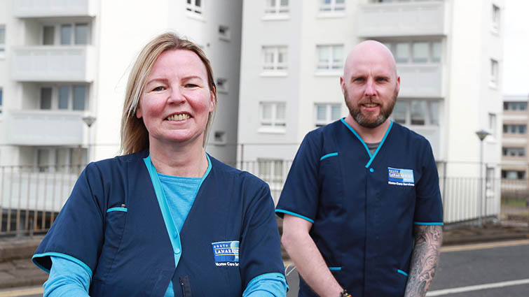 SLC Superhuman Care at Home service praised after a year of frontline community heroics
