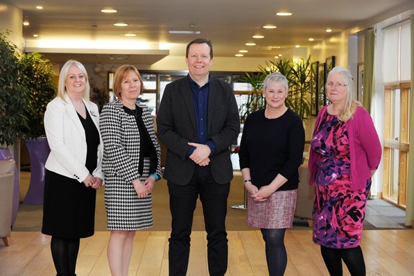 Partnership project centred on human dignity praised by national health chief