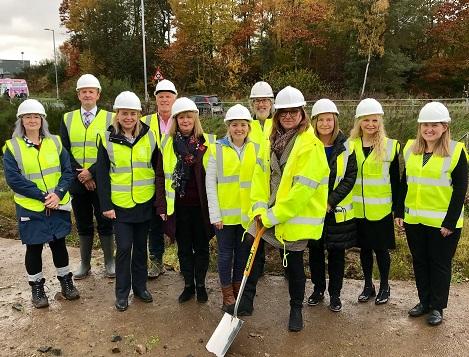 Ceremony to mark construction of Larkhall Primary Care premises