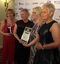 Partnership team win top UK award