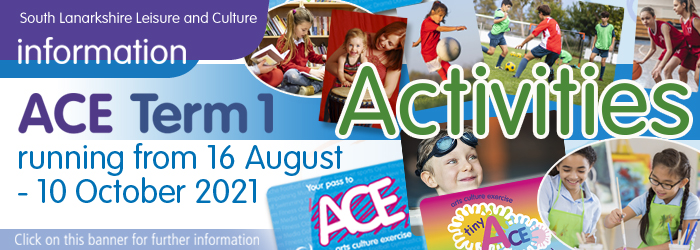 ACE term time activities Slider image