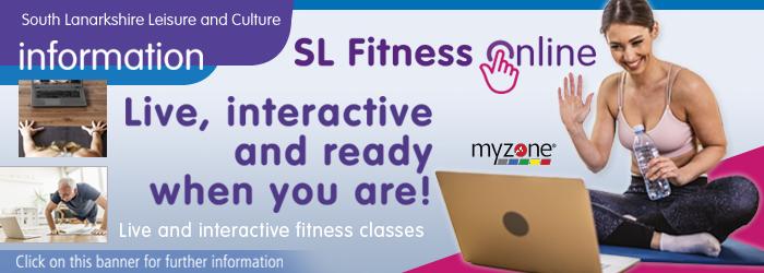 SL Fitness Online Slider image