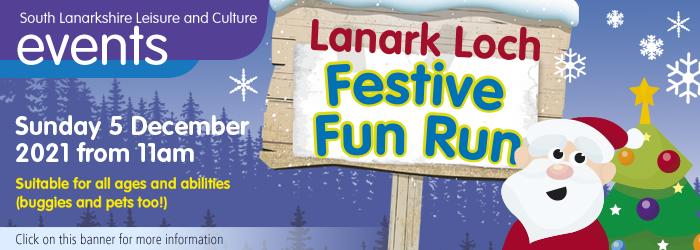 Lanark Loch festive fun run