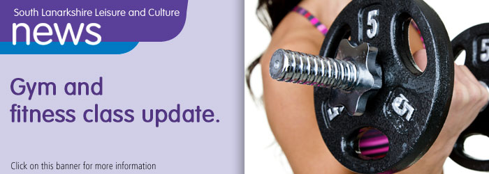 Gym and fitness class update