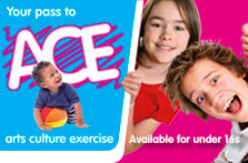 Image forACE summer activities at Coalburn Leisure Complex