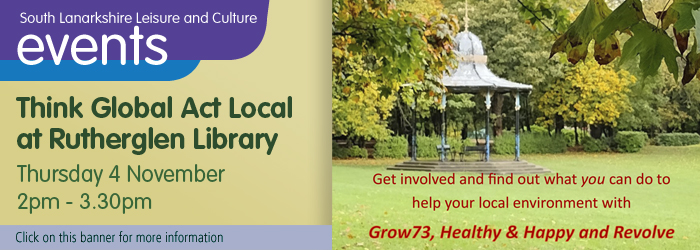 Think global act local at Rutherglen library