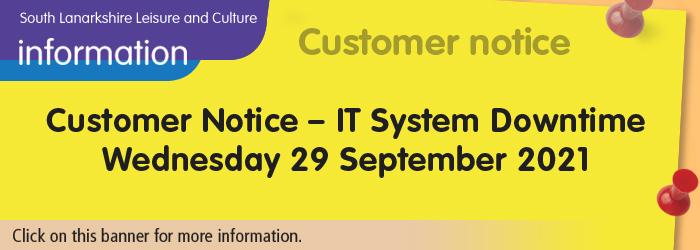 Interruption to online services 29 September 2021 Slider image