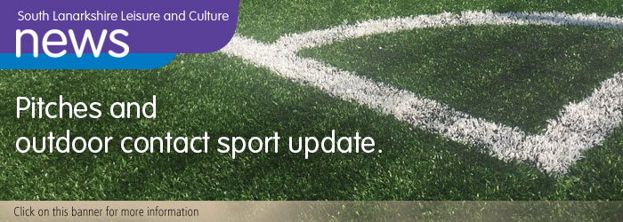 Pitches and outdoor sport update Slider image